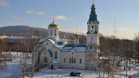 В собор на Сахалине ворвался мужчина и открыл стрельбу