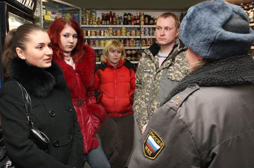 Члены Молодёжного совета провели антиалкогольный рейд