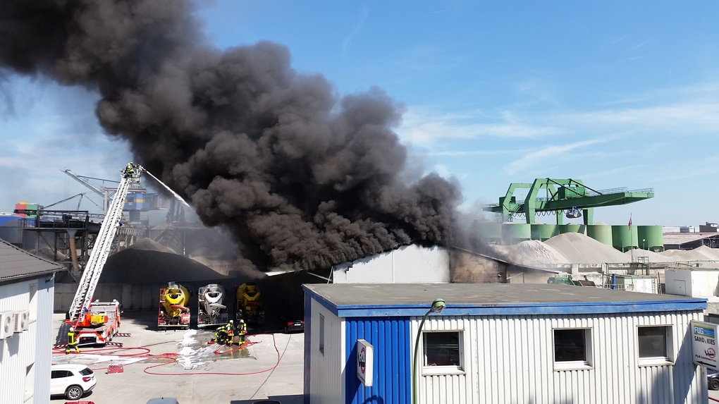 На заводе в Котовске произошел пожар: один человек – в больнице