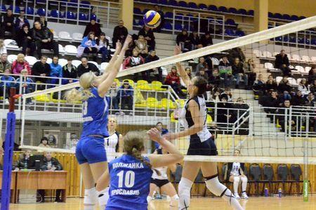 Волейболистки из Тамбова уступили соперницам из Ярославля