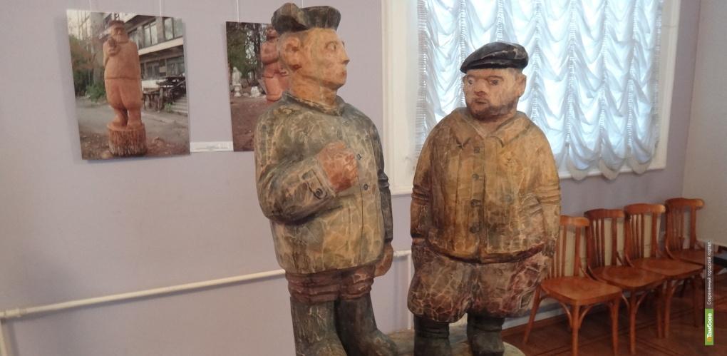 Известные тамбовские скульпторы открывают семейную юбилейную выставку