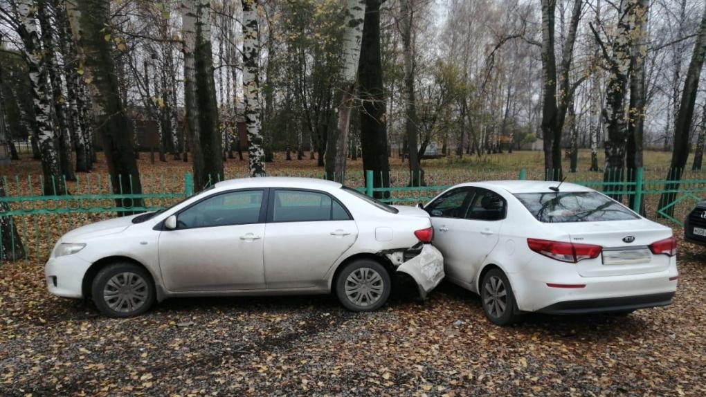 В Петровском районе в ДТП пострадали двое маленьких детей