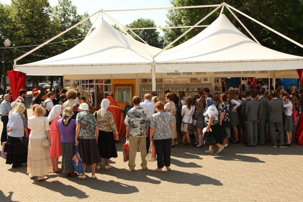 В Тамбове отменили выставку православных товаров