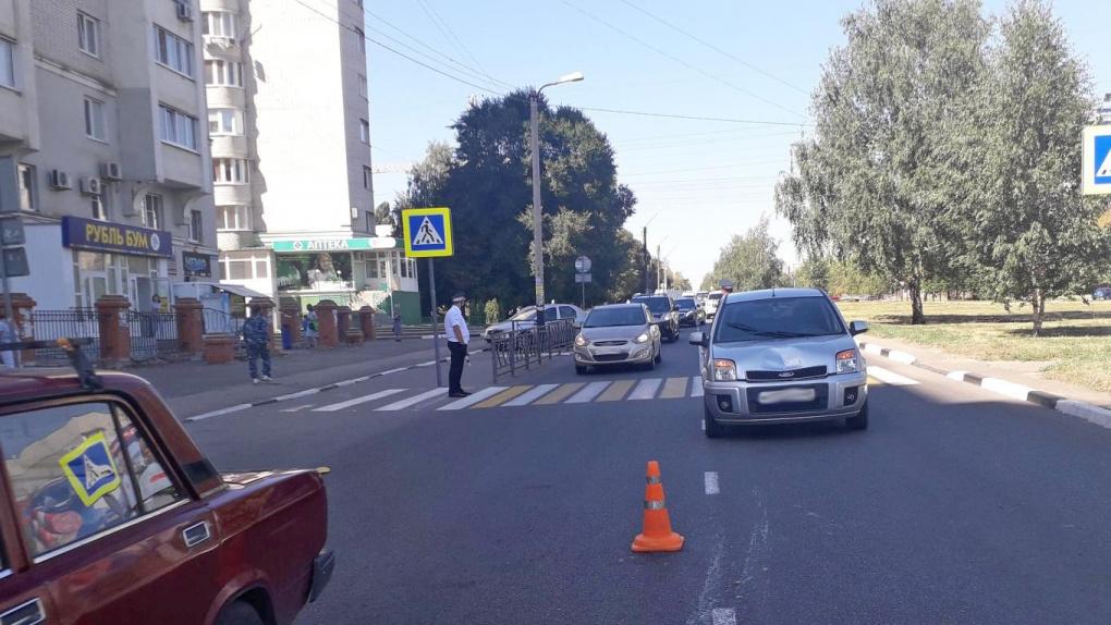 На севере Тамбова иномарка сбила пешехода