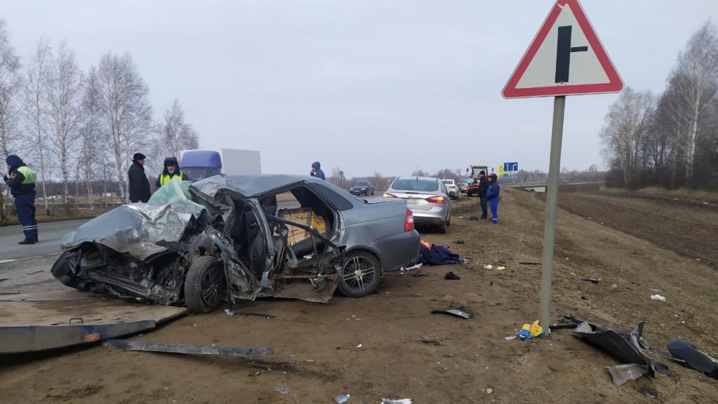 В Первомайском районе в ДТП погибли 3 человека