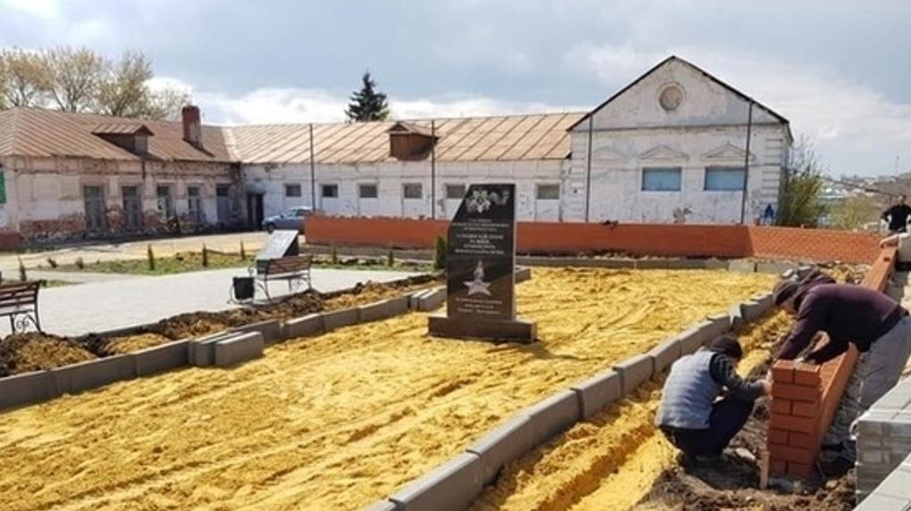 В Покрово-Пригородном ко Дню Победы откроют мемориальный комплекс