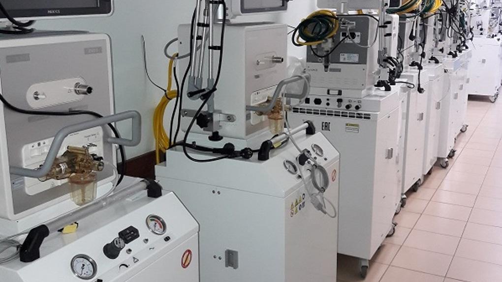 Тамбовская ЦРБ получила 15 новых аппаратов для искусственной вентиляции легких