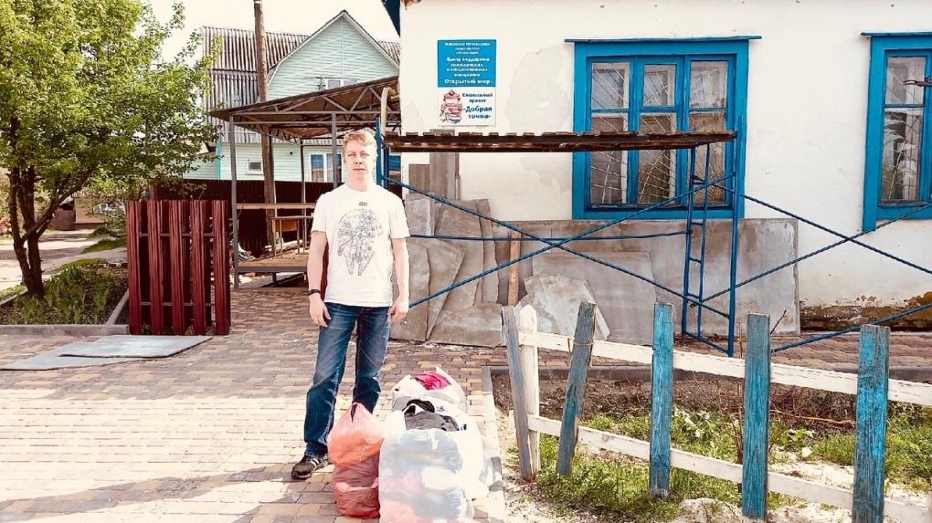 Студент Тамбовского филиала РАНХиГС отправился в «Добрую точку»