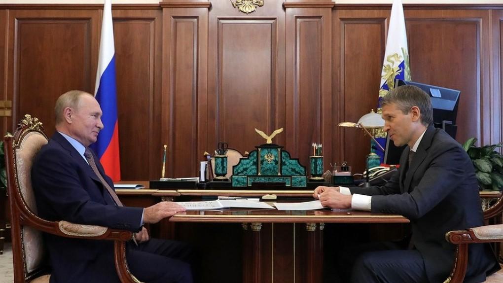 Глава АО «Россельхозбанк» рассказал Владимиру Путину о поддержке фермерских хозяйств