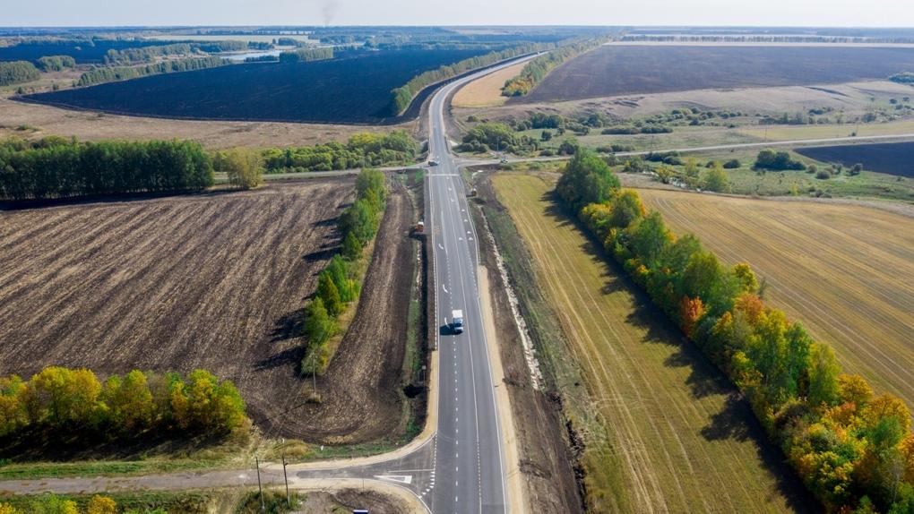 В Тамбовской области отремонтировали более 60 километров федеральных автодорог