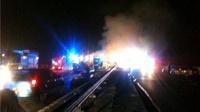 Крупное ДТП в Британии: на шоссе столкнулись 26 автомобилей
