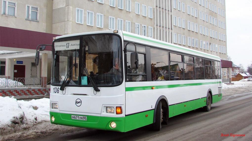 Два автобуса в Тамбове временно изменили свои марштуры