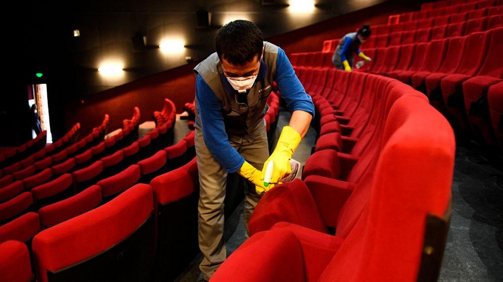 В Тамбовской области снова начали работать кинотеатры