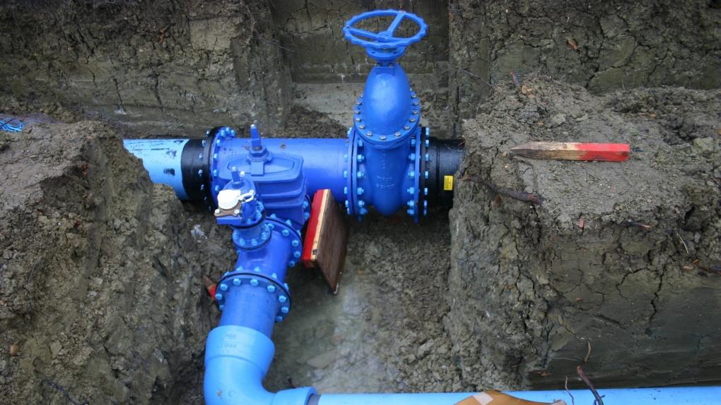 Новый участок водопровода запускают в северной части Тамбова