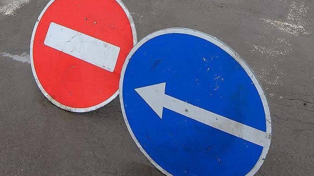 Одну из улиц в центре Тамбова на месяц закрыли для транспорта