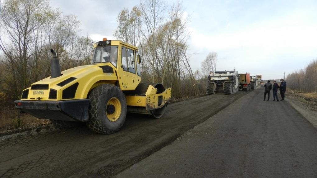 Тамбовские дороги ремонтируют с применением технологии ресайклинга