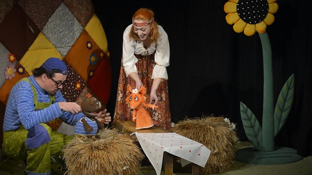 Тамбовский театр кукол покажет 5 спектаклей под открытым небом