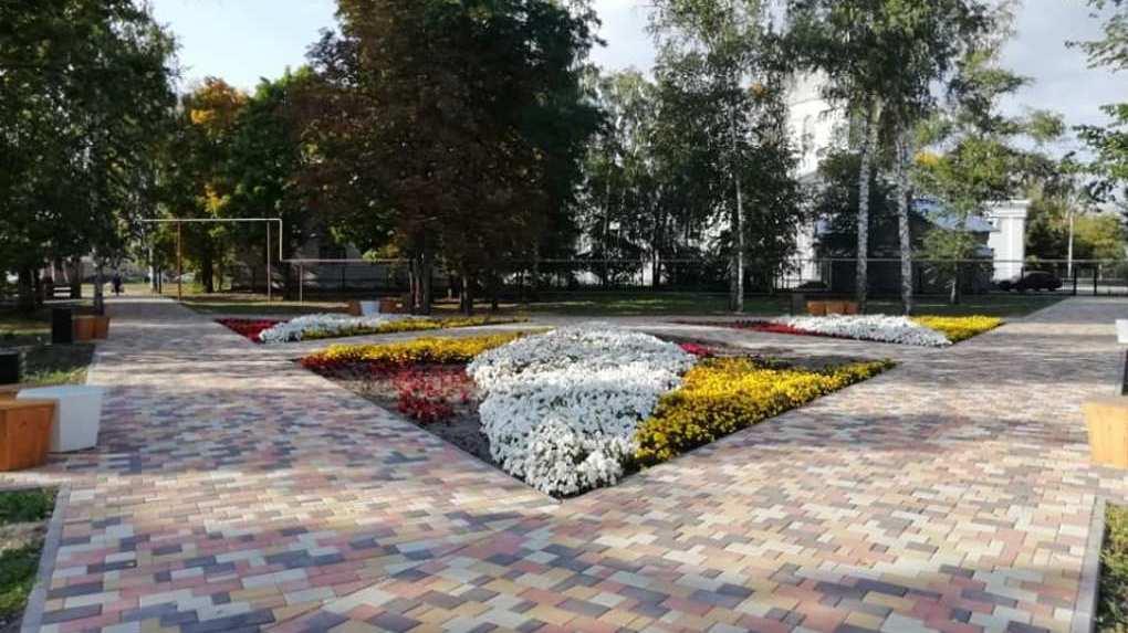 В Тамбовской области благоустроили 185 дворов и 116 общественных территорий благоустроены