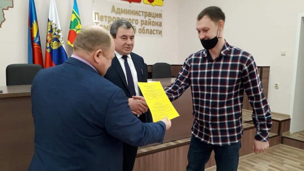 Сертификаты на улучшение жилищных условий получили семьи из четырех муниципалитетов Тамбовской области