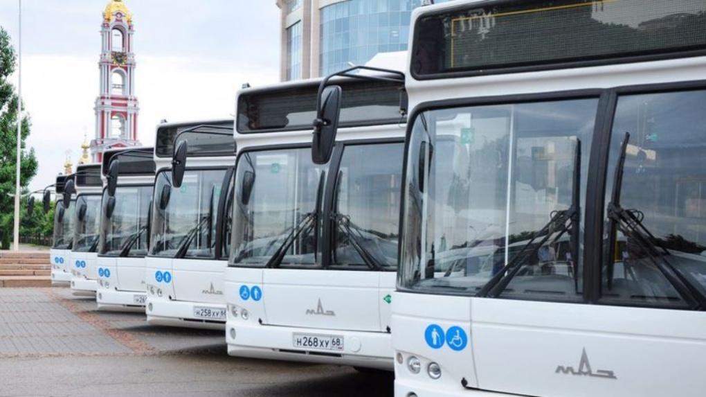 В Тамбове изменилось расписание общественного транспорта