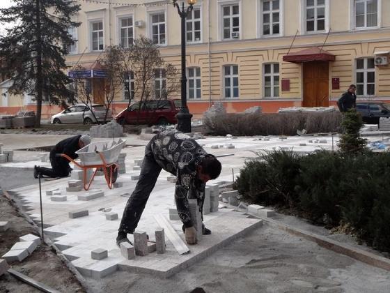 Ремонт Державинcкого сквера обойдется Тамбову в миллион с лишним рублей