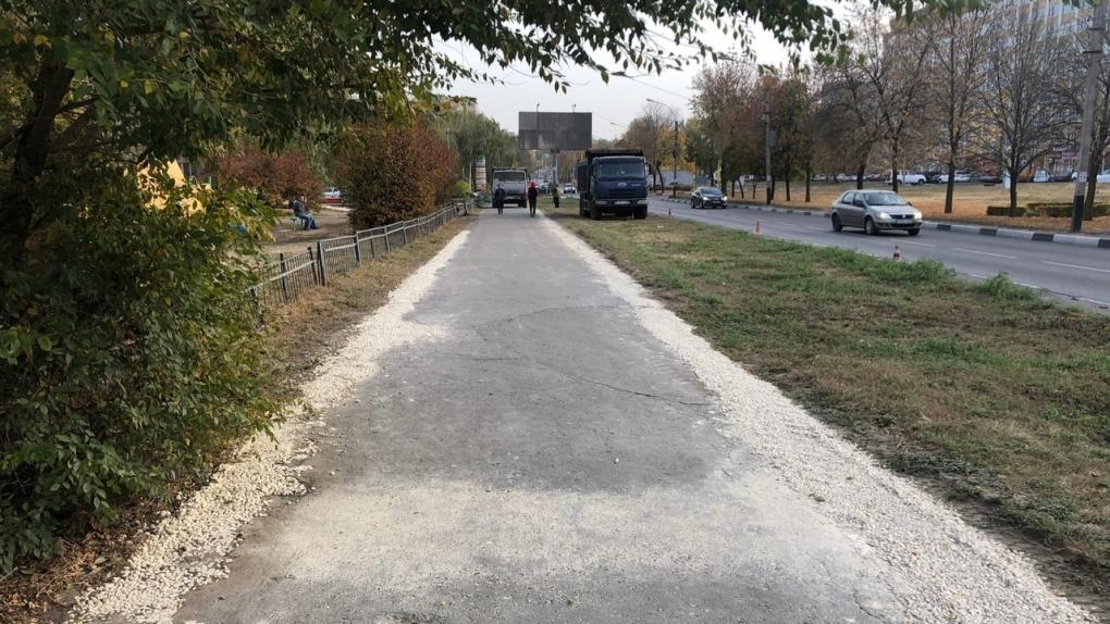 Тротуары на Рылеева отремонтируют до ноября