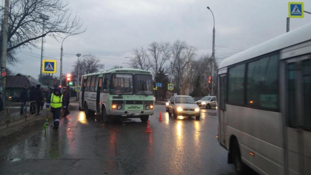 В Тамбове 9-летнего мальчика сбил рейсовый автобус