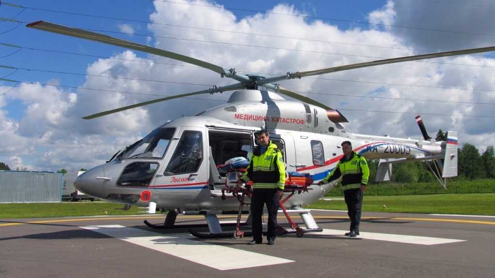В Тамбовской области начали обустраивать вертолетные площадки для авиамедицинских бригад