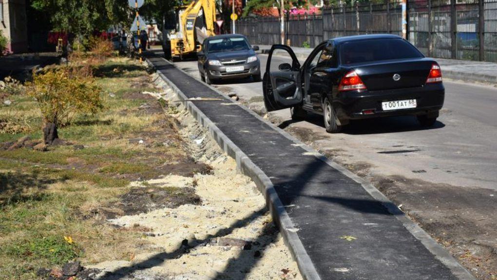 В Тамбове в ближайшие годы в ремонте дорог сделают акцент на периферийные улицы