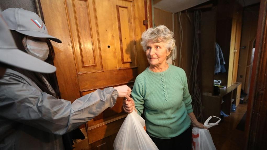 В рамках акции «Мы Вместе» волонтёры выполнили 2,5 тысячи заявок от пожилых тамбовчан