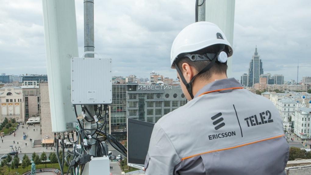 Tele2 установила 25 000 новейших базовых станций Ericsson