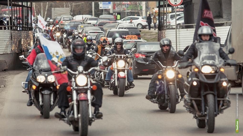Тамбовские байкеры проедут маршем по Тамбову в честь 76-й годовщины Победы