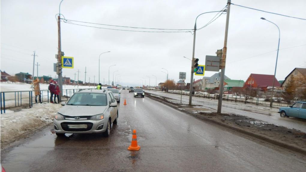 В Тамбове пьяный водитель поехал на красный свет и сбил подростка