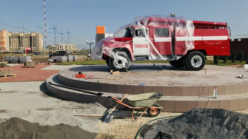 Парк на Агапкина будет носить название «Сквер спасателей»