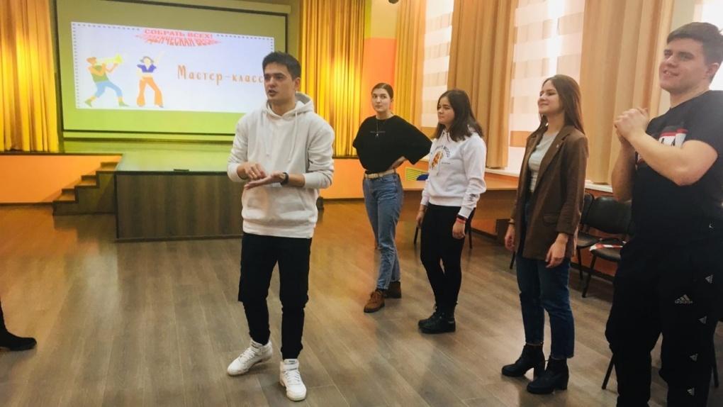 Студенты Тамбовского филиала РАНХиГС приняли участие в мастер-классе по актерскому мастерству
