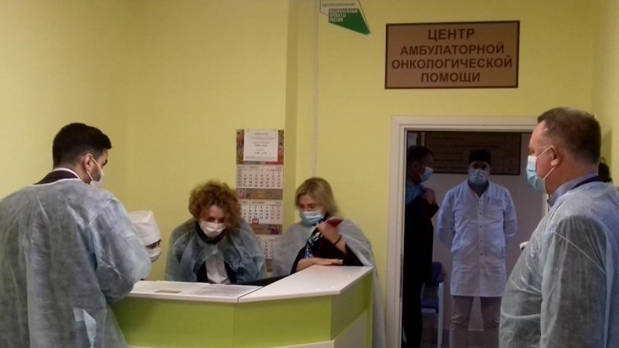 В Тамбовской области открыли центры онкологической амбулаторной помощи