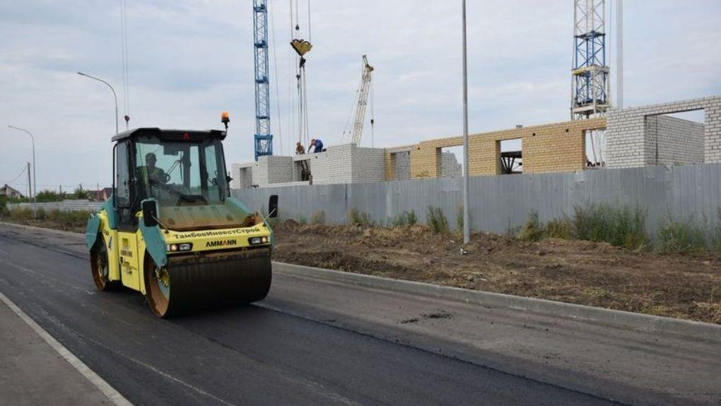 Подъездную дорогу к детским садам «Машенька» и «Медвежонок» построят раньше намеченного срока