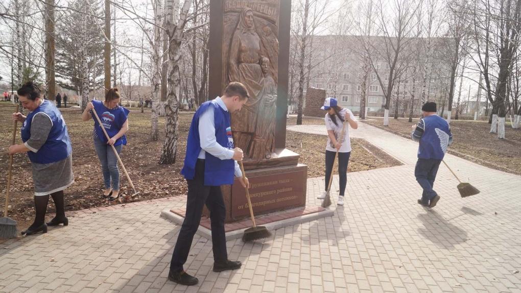 Тамбовская область приняла участие в Международном субботнике
