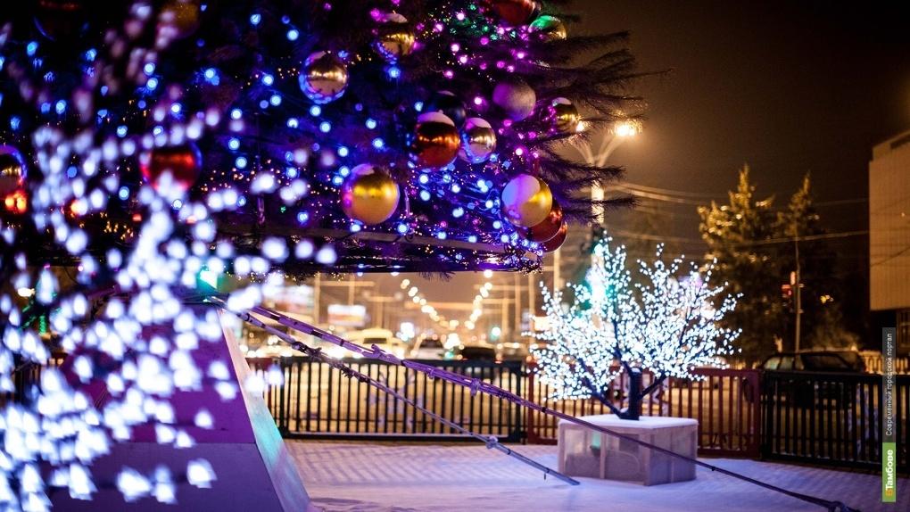 В новогодних мероприятиях приняли участие более 80 тысяч жителей Тамбовской области