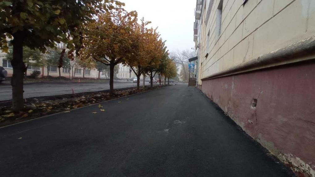 В Тамбове завершается ремонт дороги на 1-й Полковой
